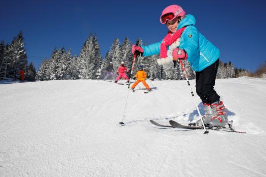 Skifahren im Joglland